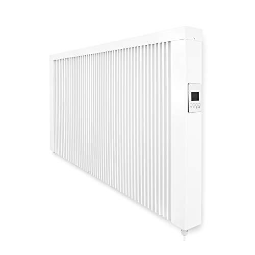 """eVARMO""""areosmart"""" elektrische Heizung/Elektroheizung mit Schamottekern zur Wandmontage/Elektroheizkörper (Elektroofen) mit 2600 Watt"""
