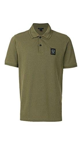 Belstaff Herren Poloshirt Grün grün Gr. S, olivgrün