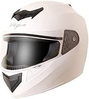 Vega Edge White Helmet, L