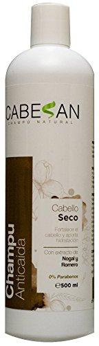 CABESAN Anticaida para Cabello Seco 500ml. 0% Parabenes con extracto de plantas