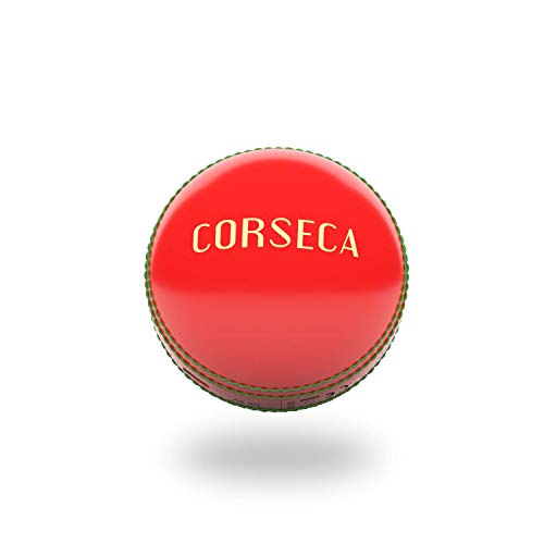 CORSECA Orb Cricket Ball Portable Wireless Bluetooth Sports Speaker (Yorker Red)