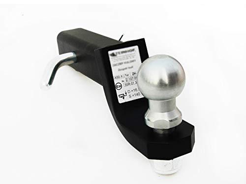 Remolque adaptador de estados unidos Vehículos recto 50x 50mm Rótula bola de remolque Altura Regulable