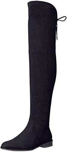 Marc Fisher Humor2 Over the Knee Boots, Black Multi, 8.5 US