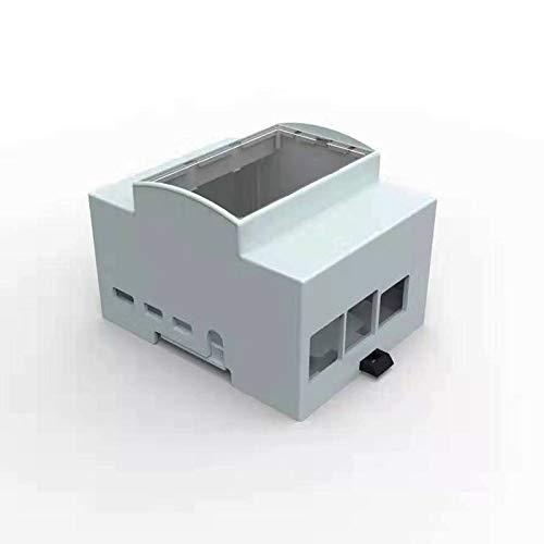 Digitalkey Case per Raspberry PI 4 su Guida DIN - Contenitore Modulare per Quadri Elettrici (1 Pz)