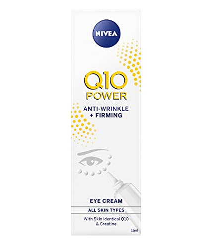 Nivea Q10 Power Anti-Wrinkle + Firming Eye Cream 15ml (Pack 2)