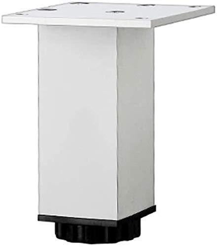 Patas de aleación de Aluminio para Muebles, Patas para Muebles, fáciles de Limpiar y Mantener para mesas de café, escritorios Modernos y mesas de Noche (Color: Negro, Tamaño: 25 cm)
