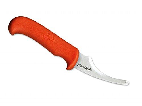 OUTDOOR EDGE Erwachsene Zip Blade Fahrtenmesser, Orange, 22,5cm