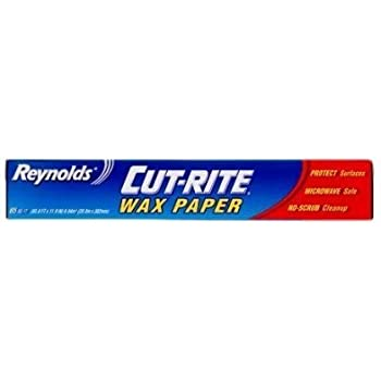 Reynolds Cut-rite Wax Paper, 60 Sq.ft. Total (60.5ft X 11.9in), Microwave Safe