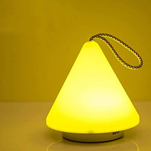 Lámpara de mesa de cerámica pintada a mano rota Lámpara de mesa de tela E27, lámpara de noche, adecuada para dormitorio, sala de estar, estudio (interruptor de botón) (Color: B)