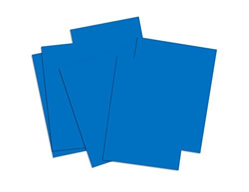 La Maison de la carte et papiers dhkp030 A4 carte Bonne Qualité lumineuses colorées, bleu clair