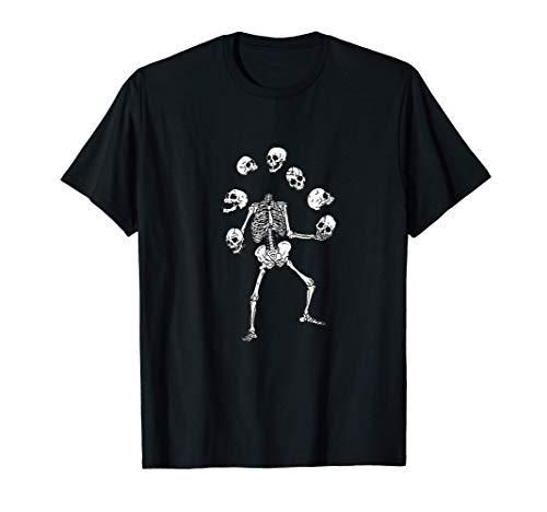Calavera Malabarista Camiseta