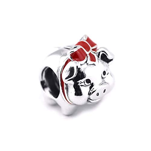 Diy Animal Charm 925 Sterling Silver Piggy Bank Beads For Jewelry Making For Women Men Gift Fit Charms Bracelet Necklaces