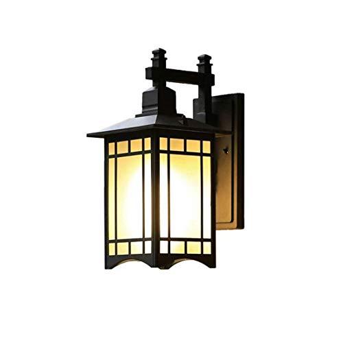 Diseño Personalizado La cabecera de la vendimia de la lámpara a prueba de agua Luces al aire libre Lámparas de pared Pasillo Jardín Escaleras tienda dentro y lámparas lámpara colgante Pantalla pared e