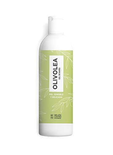 Olivolea Bad-gel för känslig och atopiskt hud återfuktar | Återuppbygger och vårdar din hud | Paraben-fri | Idealisk för spädbarn | 500 ml.