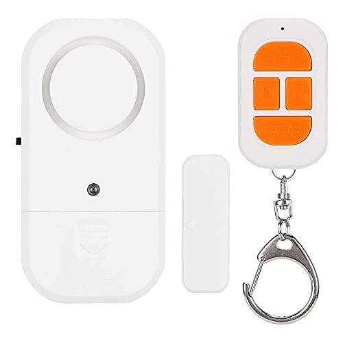 Gmasuber Sensor magnético inalámbrico, alarma de ventana de puerta, duradero, con estilo para niños para seguridad en el hogar, sistema antirrobo para mujeres mayores