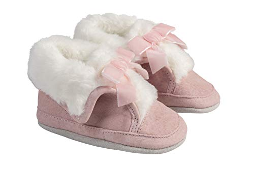 Robeez Willa Pink Cozy Baby Shoe 6-12mo