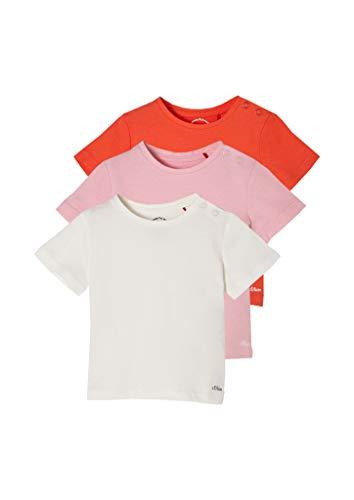 s.Oliver 405.10.103.12.130.2100779 T-Shirt, Confezione Risparmio, 18 Mesi Bimba