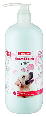 Beaphar Champú Perros Todo Tipo de Pelo 1 L, Un tamaño, 1 L 1 Unidad 1000 ml