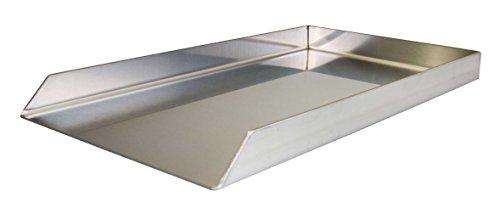 Massive 4 mm Starke Edelstahl Grillplatte Grillblech Plancha 25,5 cm x 44,2 cm passend für Weber Spirit E 210 ab 2013 / Regler vorn !