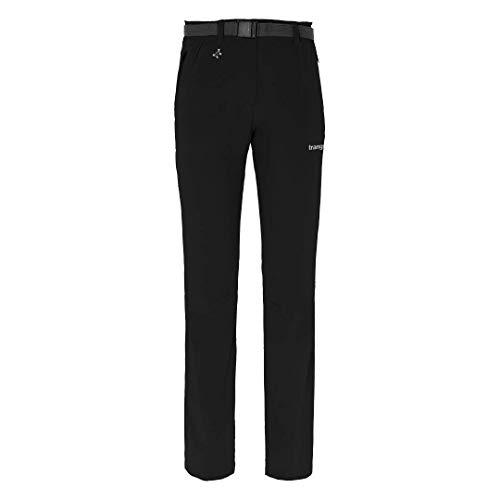 Trangoworld DEBA Pantalon Femme, Noir, XL