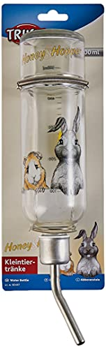 Trixie 60447 Honey & Hopper Kleintiertränke, Glas, 500 ml