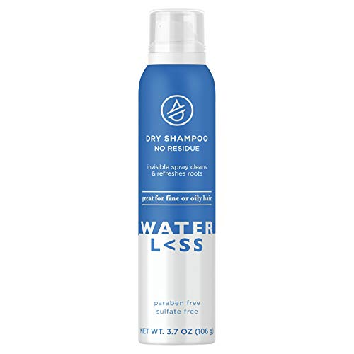 Waterless Dry Shampoo No Residue Invisible Spray 3.73 Oz. | Sulfate-Free | For Fine or Oily Hair