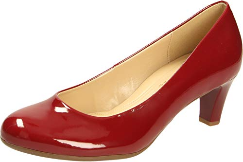 Gabor Shoes Fashion-41.400 Pumps, Rot (Cherry (+Absatz) 75), 35.5 EU