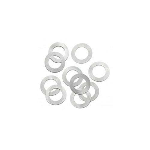 Precision Brand 039-25152 Steel Arbor Shim, 5/8″ I.D. x 1″ O.D. x 0.015″, Low Carbon, Cold Rolled, Full Hard, Steel Shim (Pack of 10)