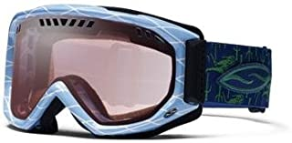 Smith Scope Graphic Airflow Series Ski Goggles - Sky Blue Cape Fear Frames