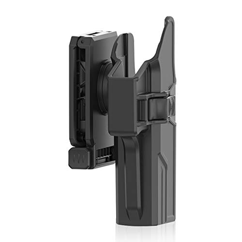 efluky Glock Holster Pistole Gürtelholster Fit Glock 17 22 31(Gen1-5), 360° Belt