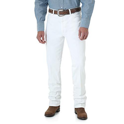 Wrangler Hombre Vaqueros Corte Slim Fit Jean - Blanco -