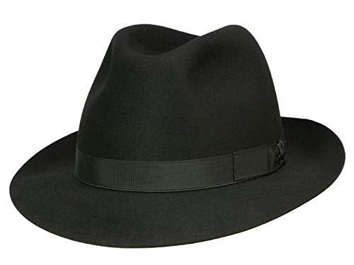 Borsalino Chapeau Fedora N° Art. 114901 Homme - Noir
