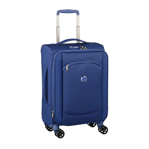 Delsey Paris Montmartre AIR 2.0 Hand Luggage, 55 cm, 33.6 liters, Blue (Azul)