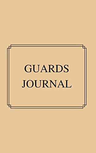 GUARD'S JOURNAL: For Heritage Railway operations of steam and diesel hauled trains. Pocket sized with prompts for train details, timings and crew.