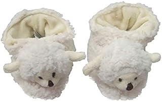 Pantufa Pelúcia Ovelha Carola - Tamanho: G (13 cm X 7,5 cm (C x L) - Zip Toys