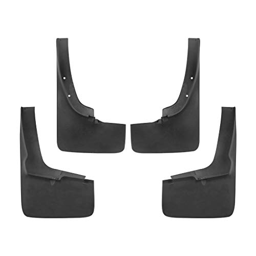 Tecoom Mud Flaps Splash Guards for 2018-2020 Compatible with Ford Ranger Front and Rear Set of 4 ABS Molded
