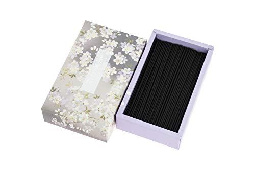 日本香堂 宇野千代のお線香 淡墨の桜 バラ詰 単品