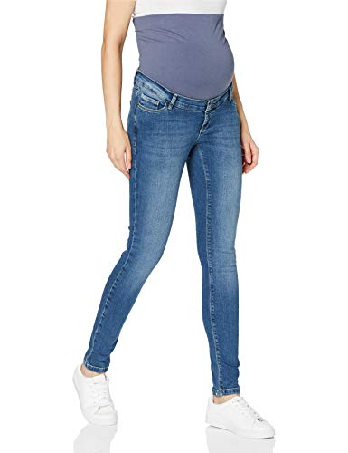 ESPRIT Maternity Damen Pants Denim OTB Skinny Jeans, Medium Wash-960, 38/32