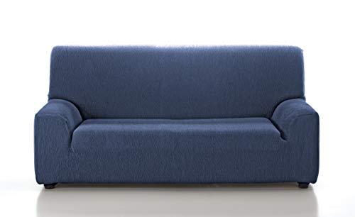 Jara Casa Textil - Copridivano elasticizzato da 2, 3 e 4 posti, colore: blu