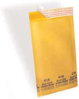 "Polyair Eco-lite #1 ELSS1 Golden Kraft Self Seal Bubble Mailer, 7 1/4"" x 12"" (Case of 100)"