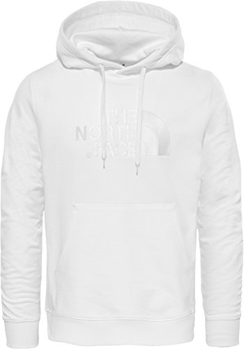 The North Face Light Drew Peak Sudadera, Blanco (Gardenia White), Medium (Tamaño del Fabricante:M) para Hombre