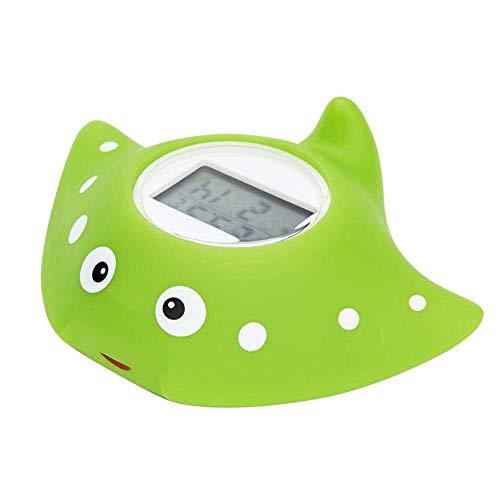 Baño Juguete flotante del termómetro del baño del bebé, termómetro electrónico for la piscina del bebé Cronógrafo Alarma Dibujos animados Temperatura del agua Temperatura...