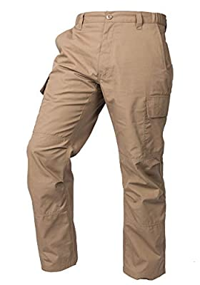 LA Police Gear Mens Core Cargo Lightweight Work Pant - Coyote Brown - 32 X 30