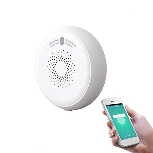 Tuya ZigBee Smart Gasleckdetektor, Gas- / Propan/Methan-Gasleckdetektor für zu Hause, Sensor für brennbares Gas zur Gasleckerkennung, Tuya/Smart Life App-Fernbedienung