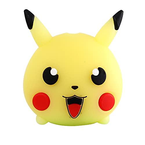 PPuujia Cable USB Minnie Protector Animal Cute Cartoon Cover Protectora (Color: Pikachu)
