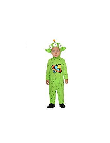 DISBACANAL Disfraz de Alien para bebé - -, 6-12 Meses