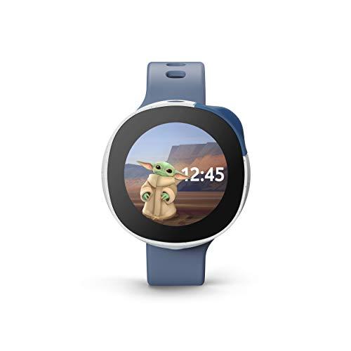 Vodafone Neo, Lo Smartwatch per Bambini in Collaborazione con Disney, con Chiamate, Chat, Fotocamera, GPS e Activity Tracker, Personalizzabile con Personaggi Disney, 3 Mesi Inclusi, Colore Blu Oceano