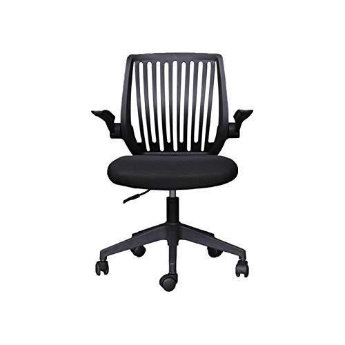 QJN Silla de computadora, silla de oficina en casa, silla de reunión personal de malla silla de estudiante de elevación giratoria silla de ingeniería transpirable asiento
