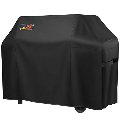 VicTsing Grill Cover, 72-Inch Waterproof BBQ Cover, 600D Heavy Duty Gas Grill Cover for weber,Brinkmann, Char Broil, Holland and Jenn Air(UV & Dust & Water Resistant, Weather Resistant, Rip Resistant)