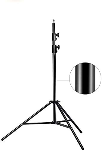 MOUNTDOG Update 78inch/6.5 Ft/200CM Photography Tripod Light Stand for Photo Studio Ring Light Reflector Softbox LED Light Umbrella Background Video Lighting Studio Heavy Duty Aluminum Alloy